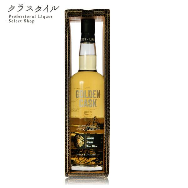 アードモア 2000 17年 ゴールデン カスク リザーブ ハウス オブ マクダフ 700ml 55.3% スコッチ ウイスキー ハイランド シングルモルト 数量限定 大和貿易