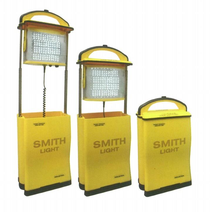【送料無料、代引き不可】 ポータブル 投光器 充電式 スミスライト IN120LB(LED/充電式/アウトドア/レジャー/照明)