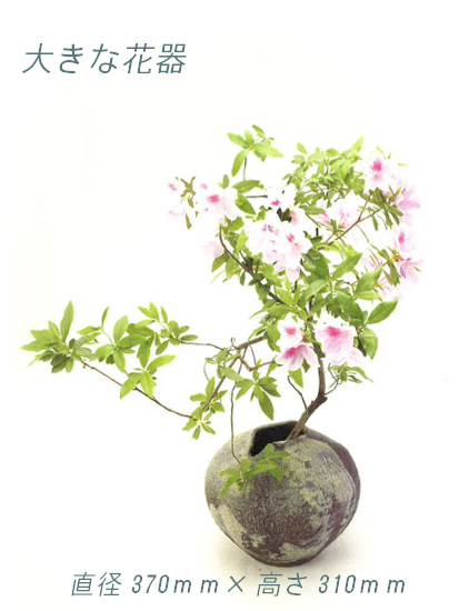 【送料無料】【smtb-kd】陽・花入・花器・花生け・花瓶・つぼ・壱彦【信楽焼】【特価】
