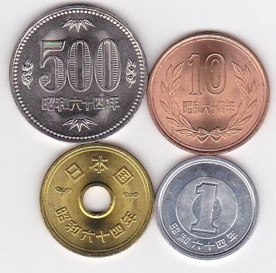 硬貨 年 価値 元 平成