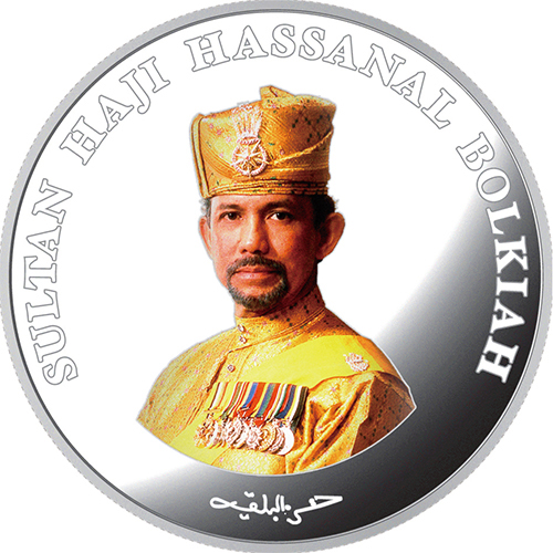 ブルネイ日本ブルネイ外交関係樹立30周年ブルネイ30ドル記念プルーフ銀貨幣2014