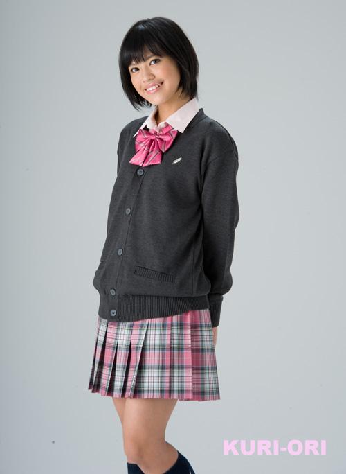 KURI-ORI Seihuku summer skirt W63・66 L48 SKR117 pink,light green