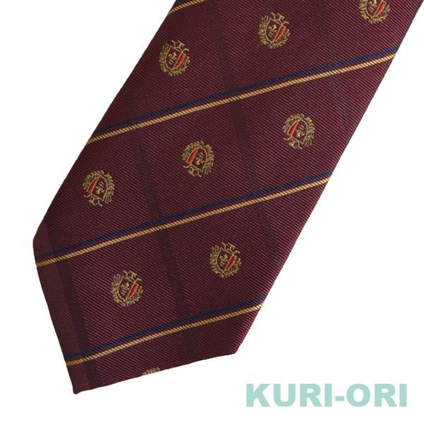 KURI-ORI[クリオリ]制服 スクールネクタイKRN51シャドウ・エンジ・クレスト男女兼用 【日本製】