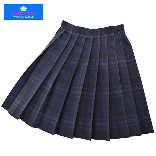 KURI-ORI Seihuku skirt W60,63,66,69,72 L54,57 WKR413 dark gray, dark blue