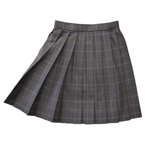 KURI-ORI Seihuku skirt W63,69,72 L42 KR375 glen check, purple