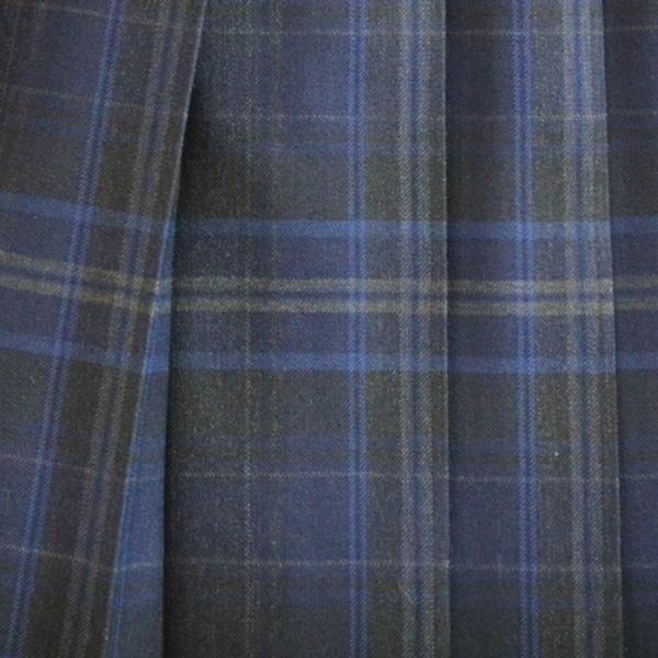 KURI-ORI Seihuku skirt W75,80,85 L48 WKR413 dark gray, dark blue