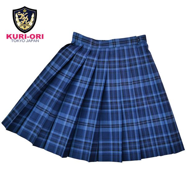 KURI-ORI Seihuku skirt W75,80,85 L54 WKR418 blue, saxeblue