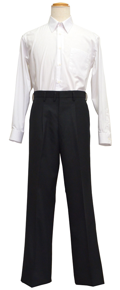"School uniform pants for ""Gakuran"" stand-up collared jacket Tokyo standard , waist 73 to 91, KP2600-86"