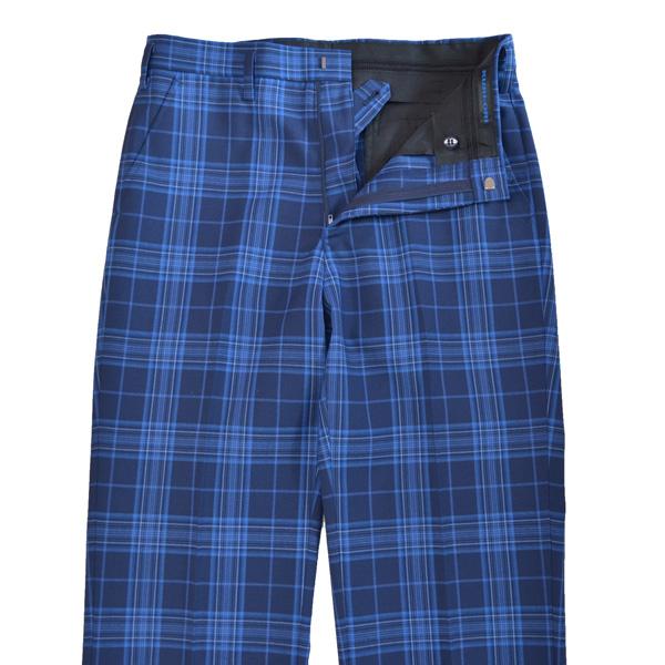 KURI-ORI Seifuku SKRB401S0 for Summer W64・67・70・73・76・79・82・85・88cm no tuck slacks blue