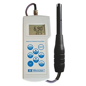 Mi306導電率/ TDS / NaCl /温度プロフェッショナルポータブルメーター
