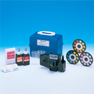 水質比色測定器 残留塩素・PH 0238806303