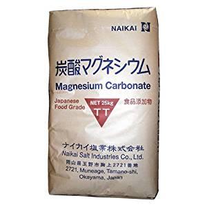 炭酸マグネシウム 食品添加物 25kg