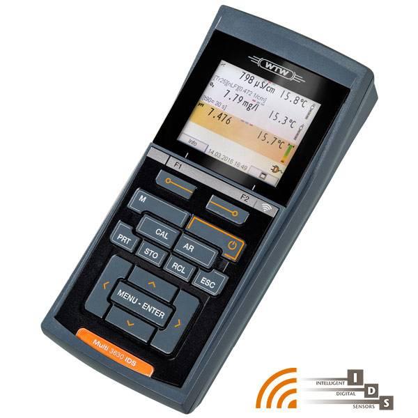 携帯用マルチ水質測定器 MultiLine 3000シリーズ 【WTW社製】W2FD351 Multi3510IDS SET 1 (測定器Multi3510とpH電極、ケーブル1.5m)
