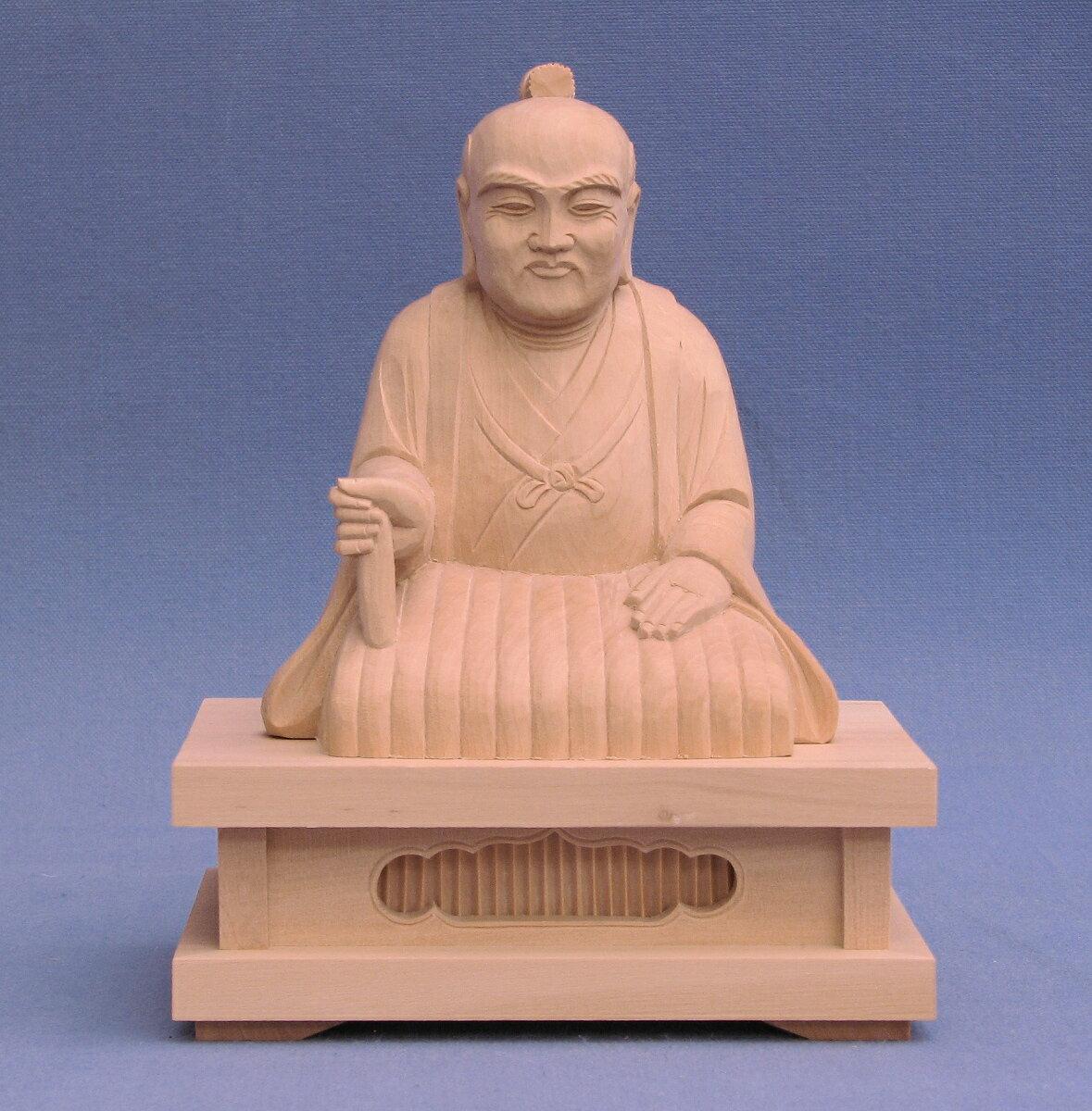 木彫神像/宗忠大神座像2.5寸ツゲ, 日生町:10929b00 --- data.gd.no