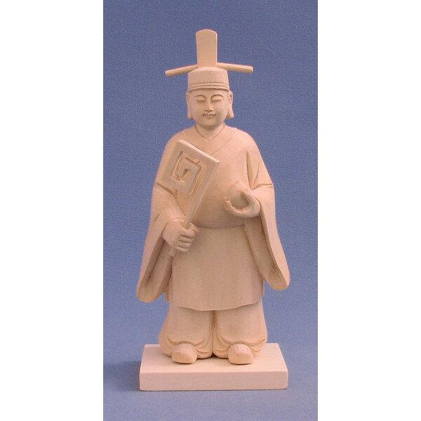神像 味耜高彦根神/味ス高彦根神 アヂスキタカヒコネ 総高18cm 桧木