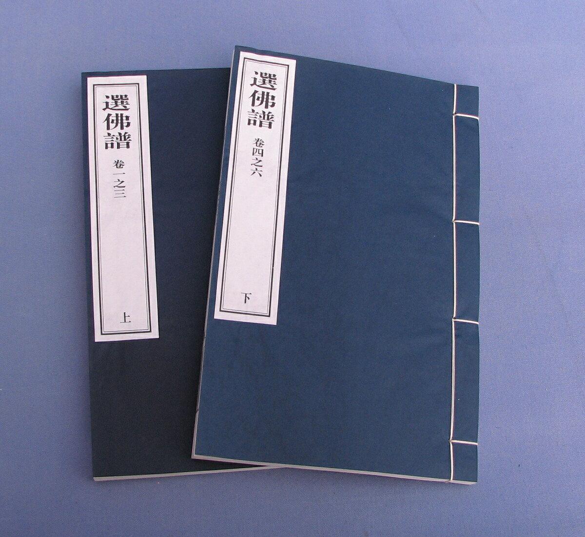 選佛譜(6巻)(二冊)