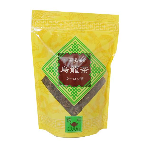 消化促進やダイエット 新品 利尿作用に効果あり 徳用烏龍茶 中国茶 200g 烏龍茶 ラッピング無料