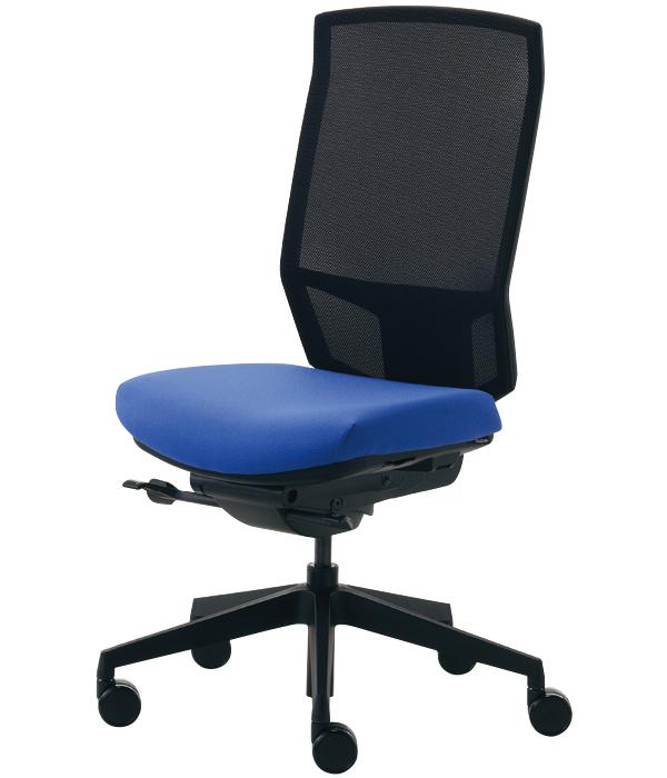 くろがね Dauphin オフィスチェア アジャスト ajust 肘なし ハイバック メッシュチェア 12色 Dauphin HumanDesign Group オフィス家具 ワークチェア おしゃれなオフィス 事務椅子