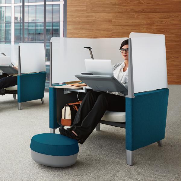 Steelcase Brody Work Lounge スチールケース ブロディ ワークラウンジ 13色 集中用スペース 企業向け個室 隠れ家 アンクレイブ オフィスチェア