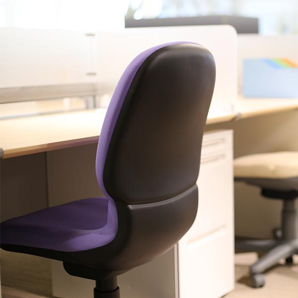 座りやすいオフィスチェア スチールケース センサー ハイバック 肘なし ブラックシェル オフィスチェア Steelcase Sensor ミーティング イス リクライニング