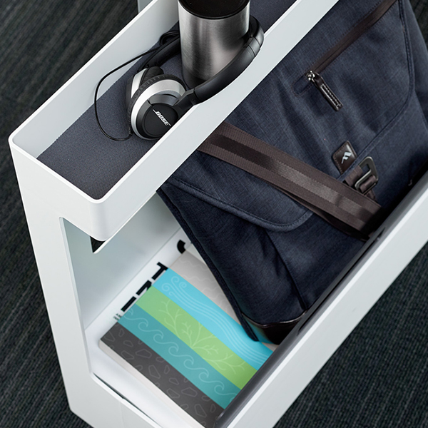 【26までポイント10倍】スチールケース SOTO II モバイルキャディ Steelcase ソトツー 個人用収納ワゴン キャスター付