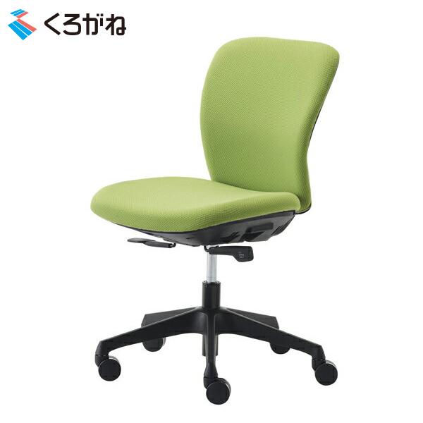 くろがね オフィスチェア トライフィット FT100F-BK ブラックシェル 肘なし ミッドバック Tryfit 自動体重感知機能搭載 事務椅子 ワークチェア