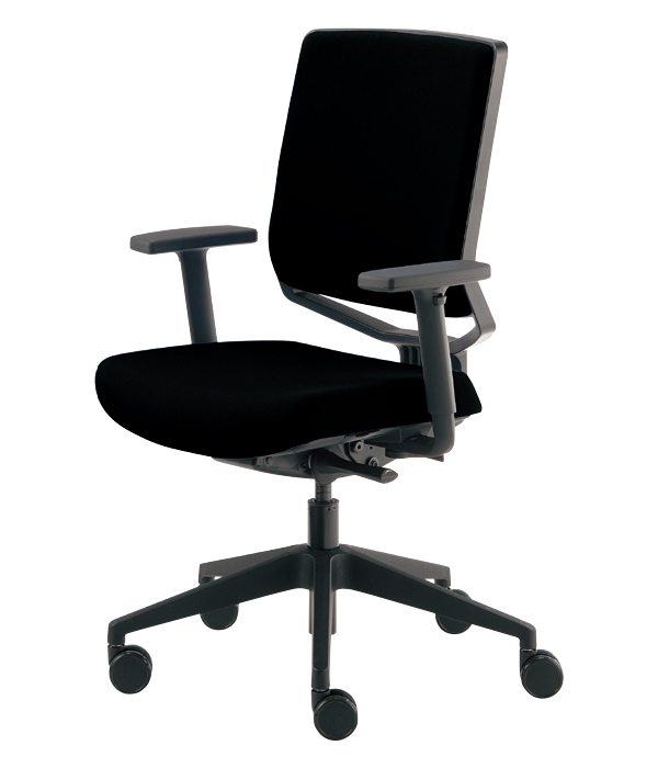 Dauphin オフィスチェア ユアセルフチェアS 肘付き 背:クロス YSS320F Yourselfchair Dauphin HumanDesign Group
