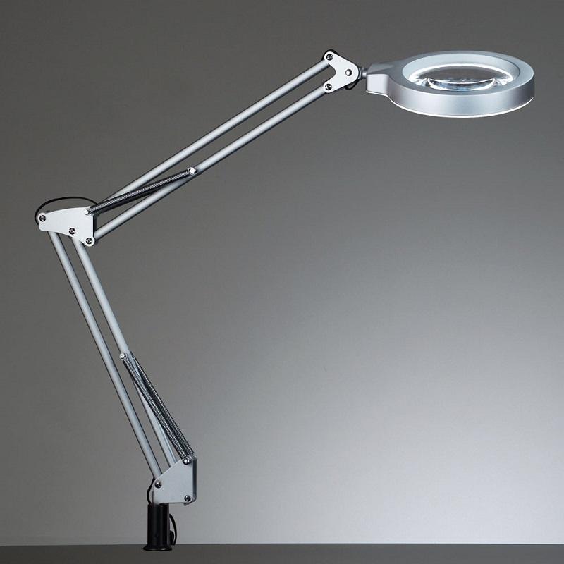 【26までポイント10倍】山田照明 Zライト Z-37NL セードの中心に大型レンズをつけたタスクライト LED 無影設計 はっきり見える レンズキャップ付 倍率2.25倍 Ra80の高演色モデル 無段階調光 ダブルクリックで即100%点灯 ラストメモリー機能付
