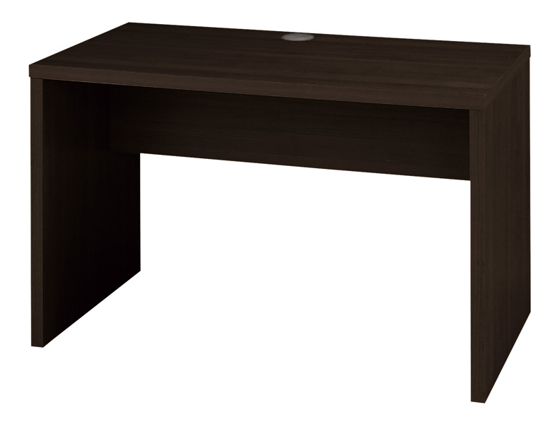 Kurogane rakuten global market flat desk width 120 cm desk dark flat desk width 120 cm desk dark brown color work table computer desk wood pattern wiring hall with work units store facility company office furniture sale greentooth Image collections