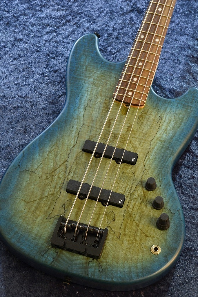 ATELIER Z Baby-Z 4J 30TH Anniversary Spalted Maple Top -Marine Blue Burst Mat/R-【NEW】【日本総本店ベースセンター在庫品】