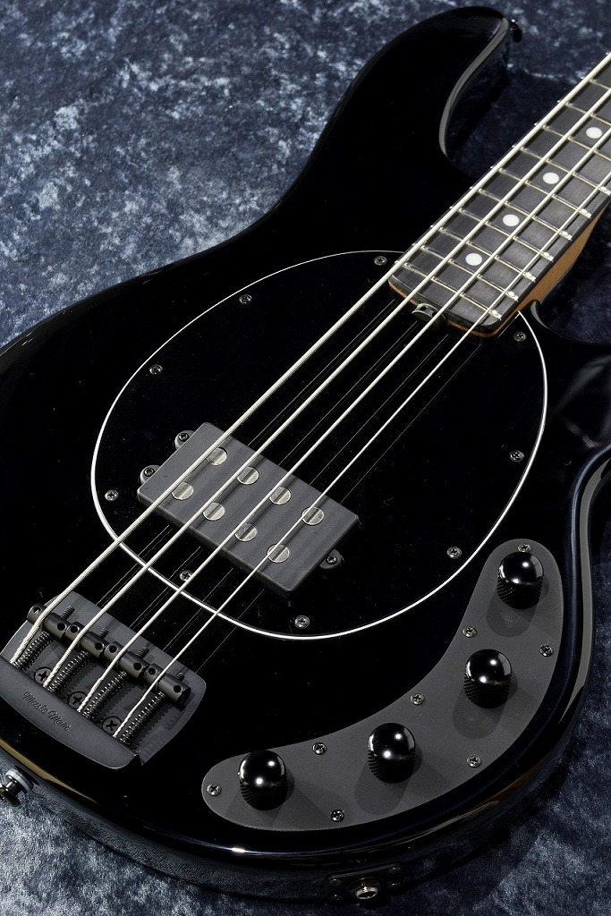 MUSIC MAN StingRay Special 4 -Jet Black/E-【NEW】【日本総本店ベースセンター在庫品】
