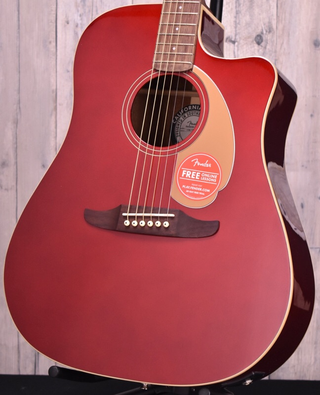Fender Redondo Player-Candy Apple Red-【おちゃのみず楽器在庫品】