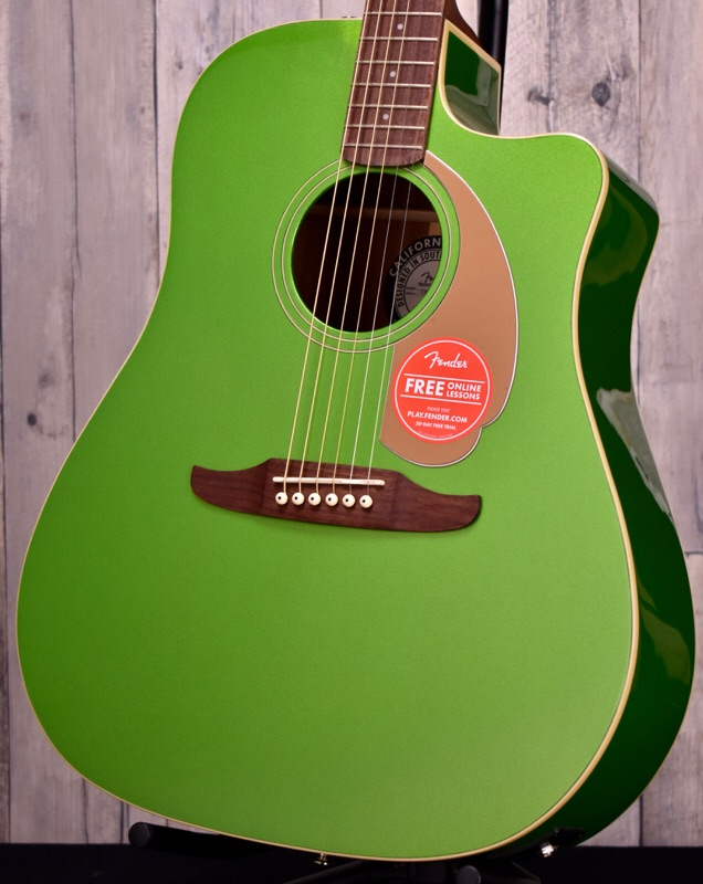 Fender Redondo Player-Electric Jade-【おちゃのみず楽器在庫品】