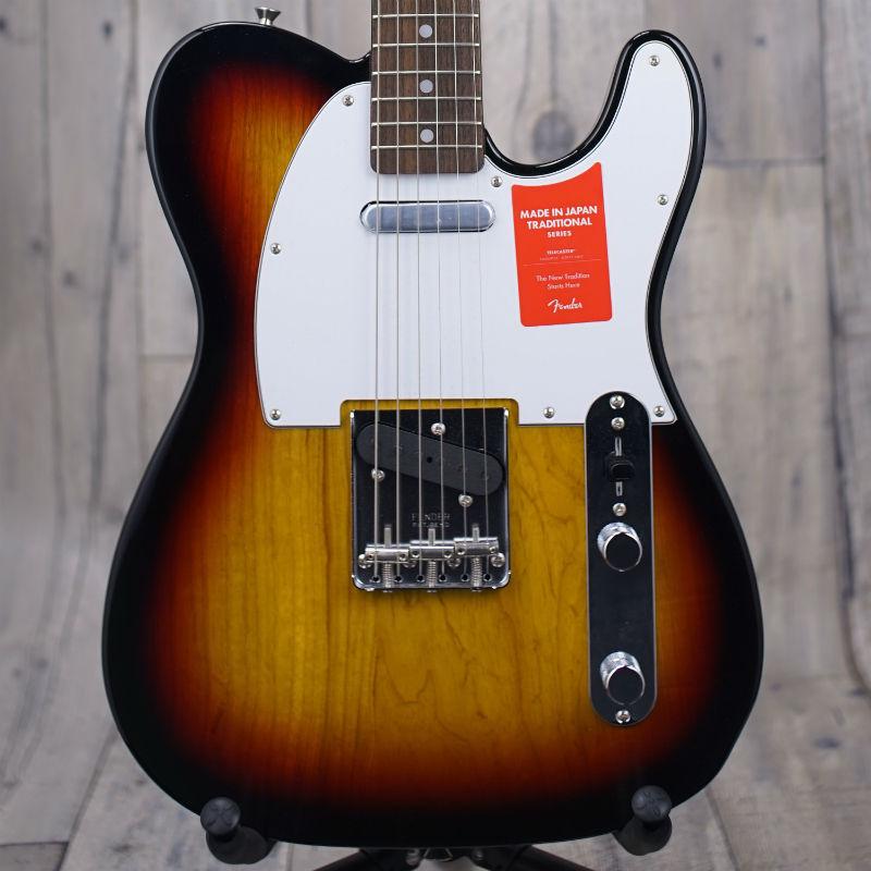 Fender Made in Japan Traditional '70s Telecaster Ash -3-Color Sunburst-【特価品】【新品】【おちゃのみず楽器在庫品】