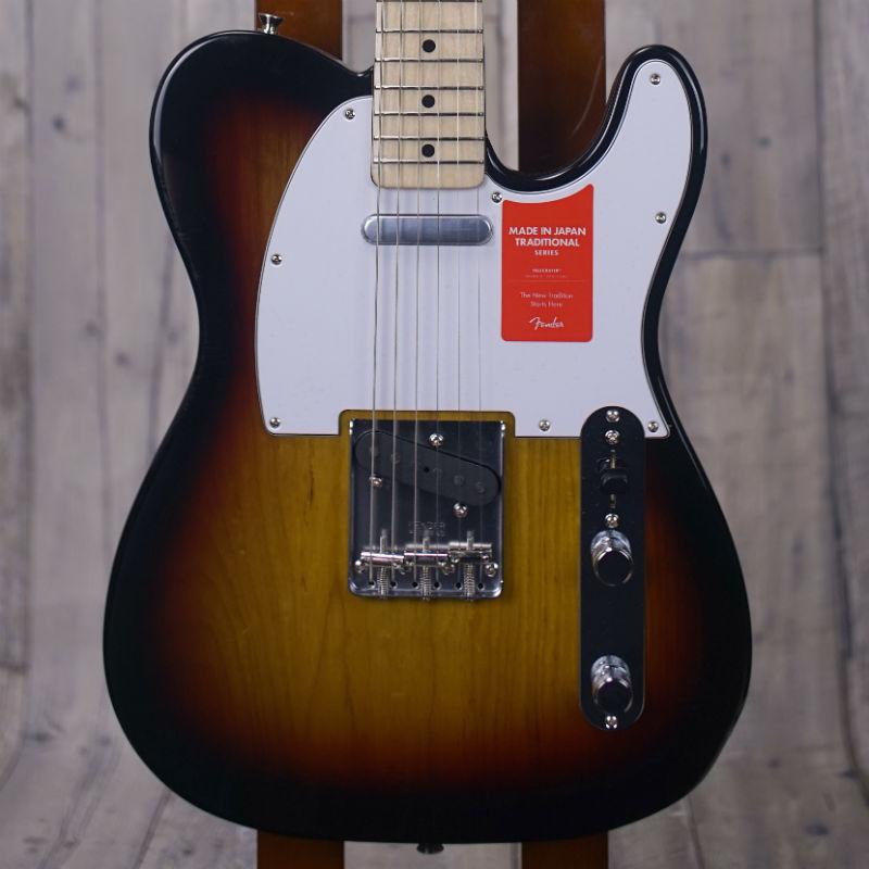 Fender Made in Japan Traditional '70s Telecaster Ash -3-Color Sunburst- 【特価品】【新品】【おちゃのみず楽器在庫品】