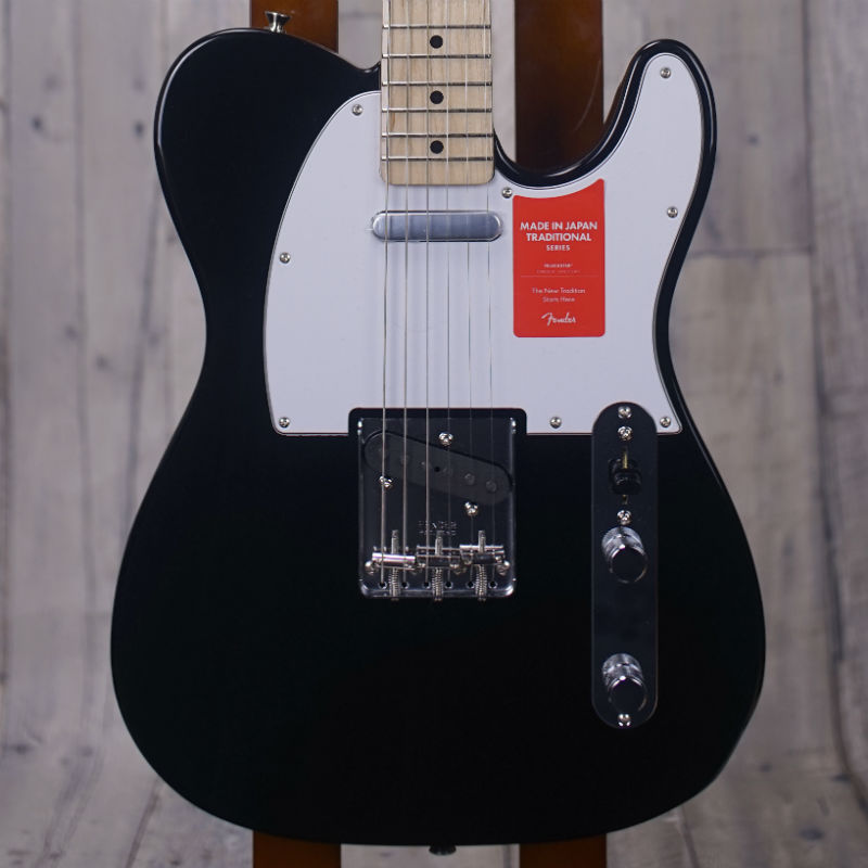 Fender Made in Japan Traditional '70s Telecaster Ash -Black- 【特価品】【新品】【おちゃのみず楽器在庫品】