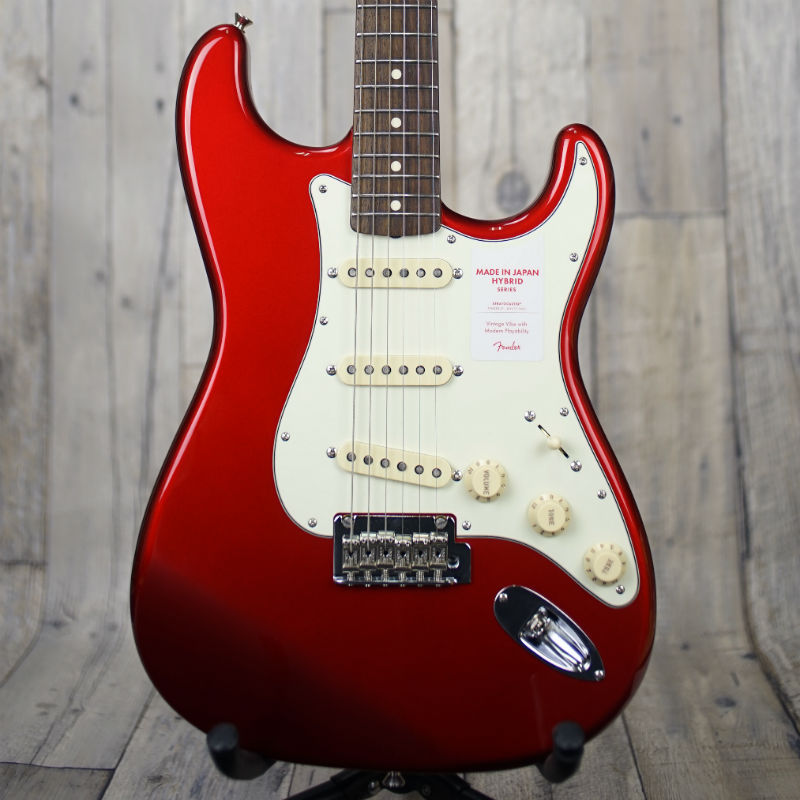 Fender Made in Japan HYBRID '60s Stratcaster -Candy Apple Red- 【ちょい傷アウトレット特価!!】【新品】【おちゃのみず楽器在庫品】