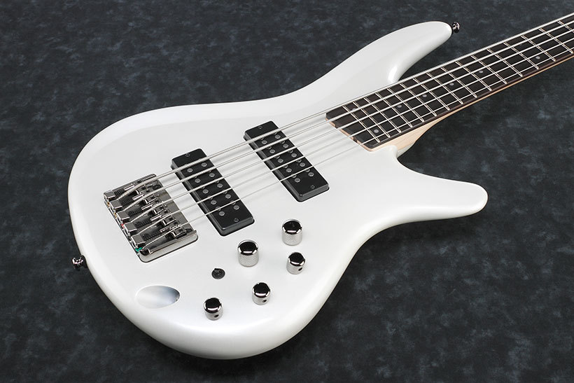 Ibanez SR305E -Pearl White/Jatoba-【NEW】【お取り寄せ品】【おちゃのみず楽器】
