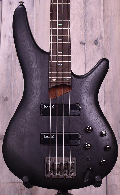 Ibanez SR500 -Transparent Black Flat/R-【USED】【おちゃのみず楽器在庫品】