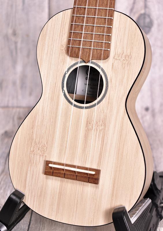 Martin 0X Uke Bamboo-Natural-【チューナー、教本付き】【おちゃのみず楽器在庫品】