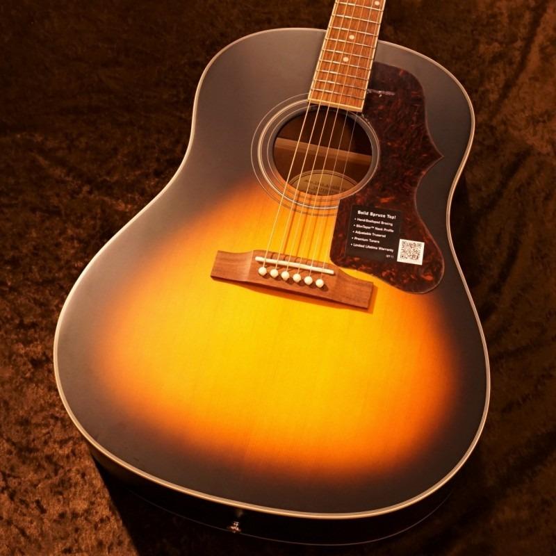 Epiphone 1963 AJ-45S [Vintage Sunburst] [トップ単板] 【G-CLUB TOKYO】【送料無料】【smtb-u】〔Acoustic Guitar アコギ〕