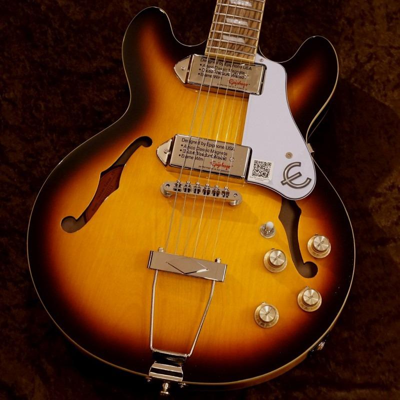 Epiphone Casino Coupe [Vintage Sunburst][フルアコースティックギター] 【G-CLUB TOKYO】【送料無料】【smtb-u】〔エレキギター〕