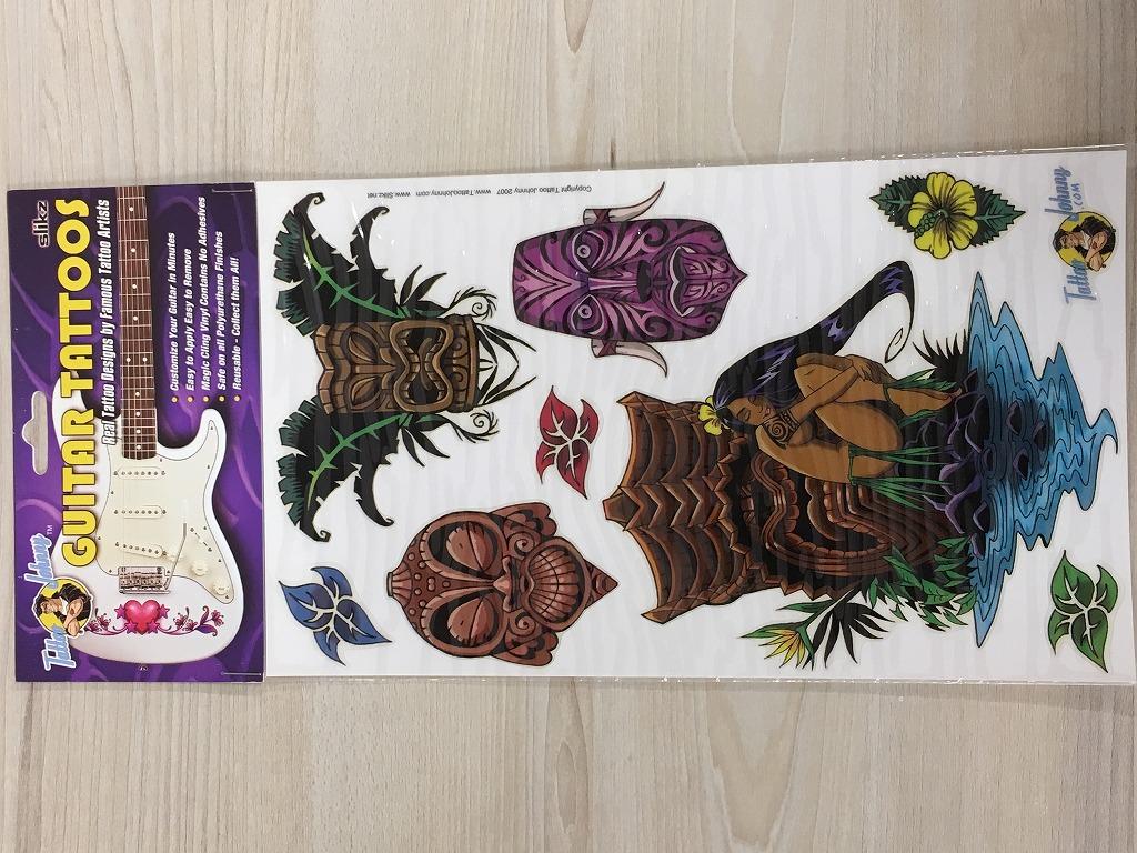 新作販売 Slikz ギタータトゥー GUITARTATTOOS 名古屋店在庫品 デポー