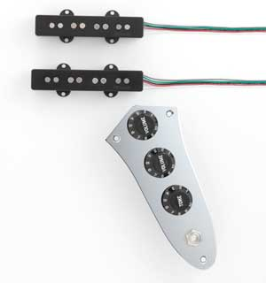 DiMarzio Pre-wired Pickup Set for J Bass Area J set (FB2200CA2BK) 【ご予約受付中】【送料無料】【ONLINE STORE】