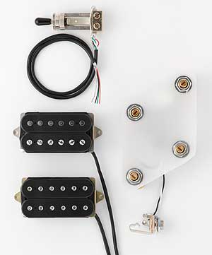 DiMarzio Pre-wired Pickup Set for Les Paul Classic Rock set (GG2100A2BK) 【ご予約受付中】 【smtb-u】【ONLINE STORE】