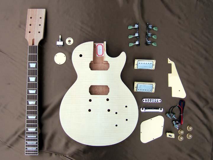 HOSCO ER-KIT-LP 【LPタイプ組み立てギターキット】【送料無料】【ONLINE STORE】