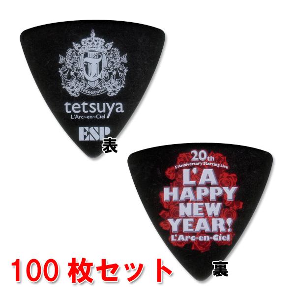 ESP PA-LT10NEWYEAR (Black)【L'Arc-en-Ciel/tetsuyaモデル】【100枚セット】【ONLINE STORE】
