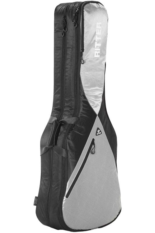 Ritter PERFORMANCE Series RGP5-DB -Double E-Bass- BSG (Black/Silver Grey) 《ベース2本収納可能ケース》【ONLINE STORE】