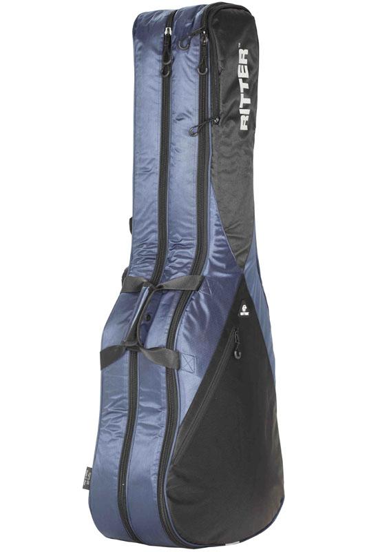 Ritter PERFORMANCE Series RGP5-DB -Double E-Bass- NBK (Navy/Black) 《ベース2本収納可能ケース》【ONLINE STORE】
