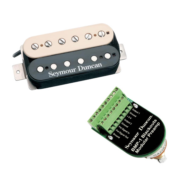 Seymour Duncan Blackouts Modular Preamp+Coil Pack Complete Setup(受注生産品)(お取り寄せ)【ONLINE STORE】